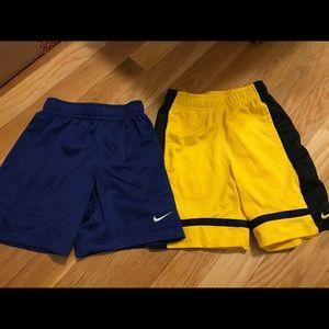 Nike basketball shorts size 2